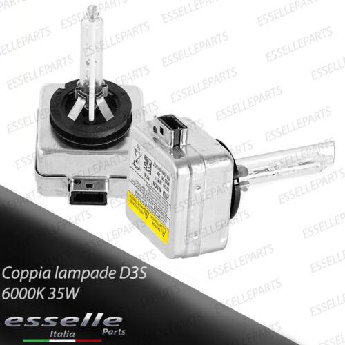 COPPIA LAMPADE XENON D3S 6000K SPECIFICHE PER  AUDI A4 B8
