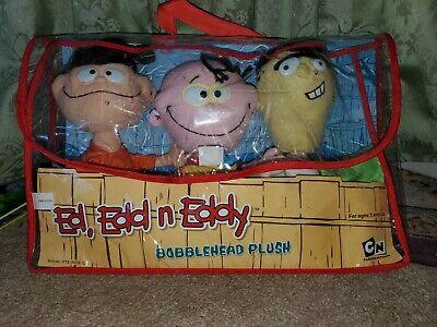 RARE MINT Cartoon Network Ed, Edd N Eddy Bobblehead Plush ...