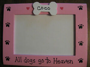Memory Dog All Dogs Go To Heaven Custom Personalized Pet Photo