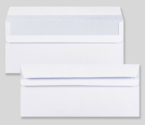 All Sizes, Style /& Qty/'s Strong Office Envelopes Self Seal WHITE 90 gsm in