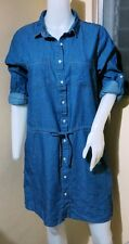 M28:New FOR ME Women EveryDay Casual Denim Dress-Small