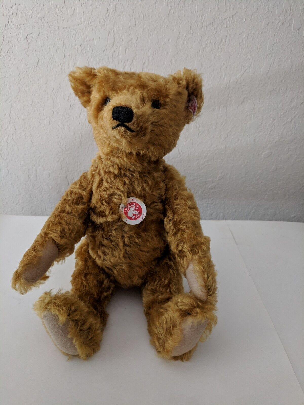 Steiff Side-to-Side Teddy Bear oroen Blonde 038242 2005 14   1554/5000 COA NIB