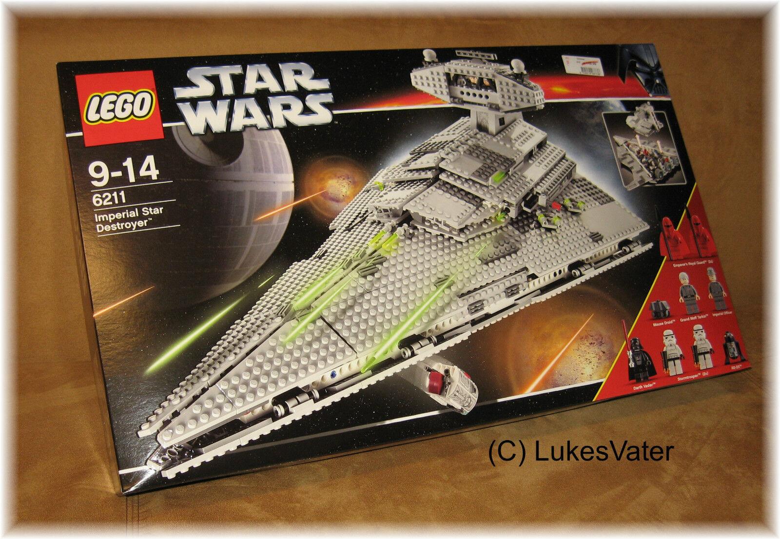 LEGO StarWars Imperial Star Destroyer (6211) Neu MISB