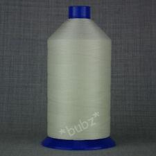 BONDED NYLON SEWING THREAD 40s BIG 5,000m WHITE 40 TKT LEATHER UPHOLSTERY REPAIR