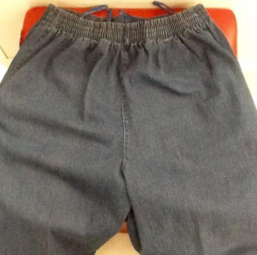 Damen Hosen Jeans Schlupfjeans Stretch Hose Blau Grau und Schwarz  Gr 38-54