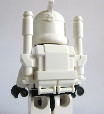 Custom CLONE COMMANDO Heavy Backpack Black for Clone Star Wars Minifigures