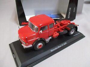 Dv8327 Schuco 1/43 Mercedes Benz Ls 1620 Rot Ref 450359800 Limité à 1000 Pièces