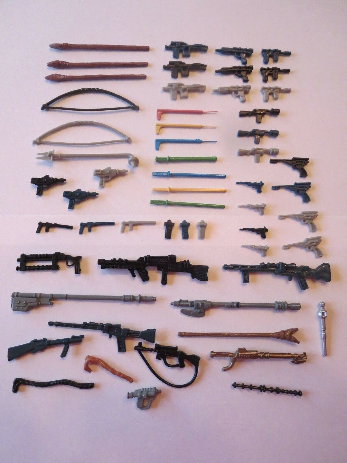 Lot of Star Wars Weapons blueesnagman Repros 57 57 57 Pieces 2dffcf