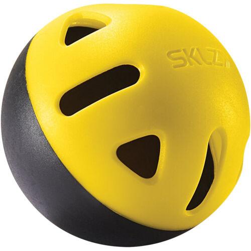 SKLZ Impact Practice Baseballs 12-Pack Black//Yellow