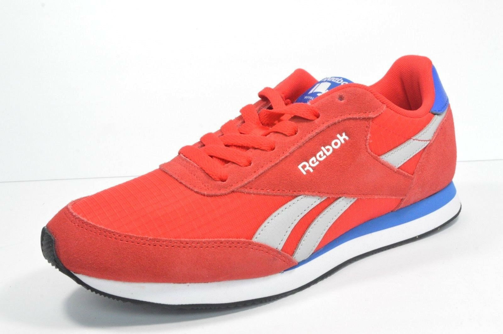 REEBOK Classic Retro BD3281 ROYAL CL JOGGER 2 Men's shoes Red bluee Size 8 New