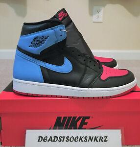 W-Nike-Air-Jordan-1-Retro-High-OG-UNC-To-CHI-Gym-Red-Blue-CD0461-046-Sizes