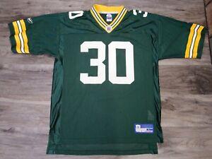 Vintage-Reebok-Green-Bay-Packers-NFL-Football-30-Ahman-Green-Jersey-Mens-Large
