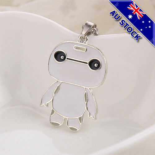 Big Hero Baymax Necklace Chains Toy Gift