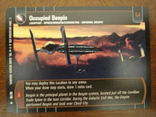 Star Wars TCG ROTJ 4x Occupied Bespin