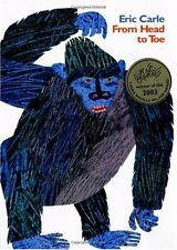 From Head to Toe by Eric Carle (1997, Hardcover)