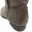 thumbnail 10 - Frye Cara Short Ankle Boot Bootie in Smoke Brown Leather Western Riding Size 9.5