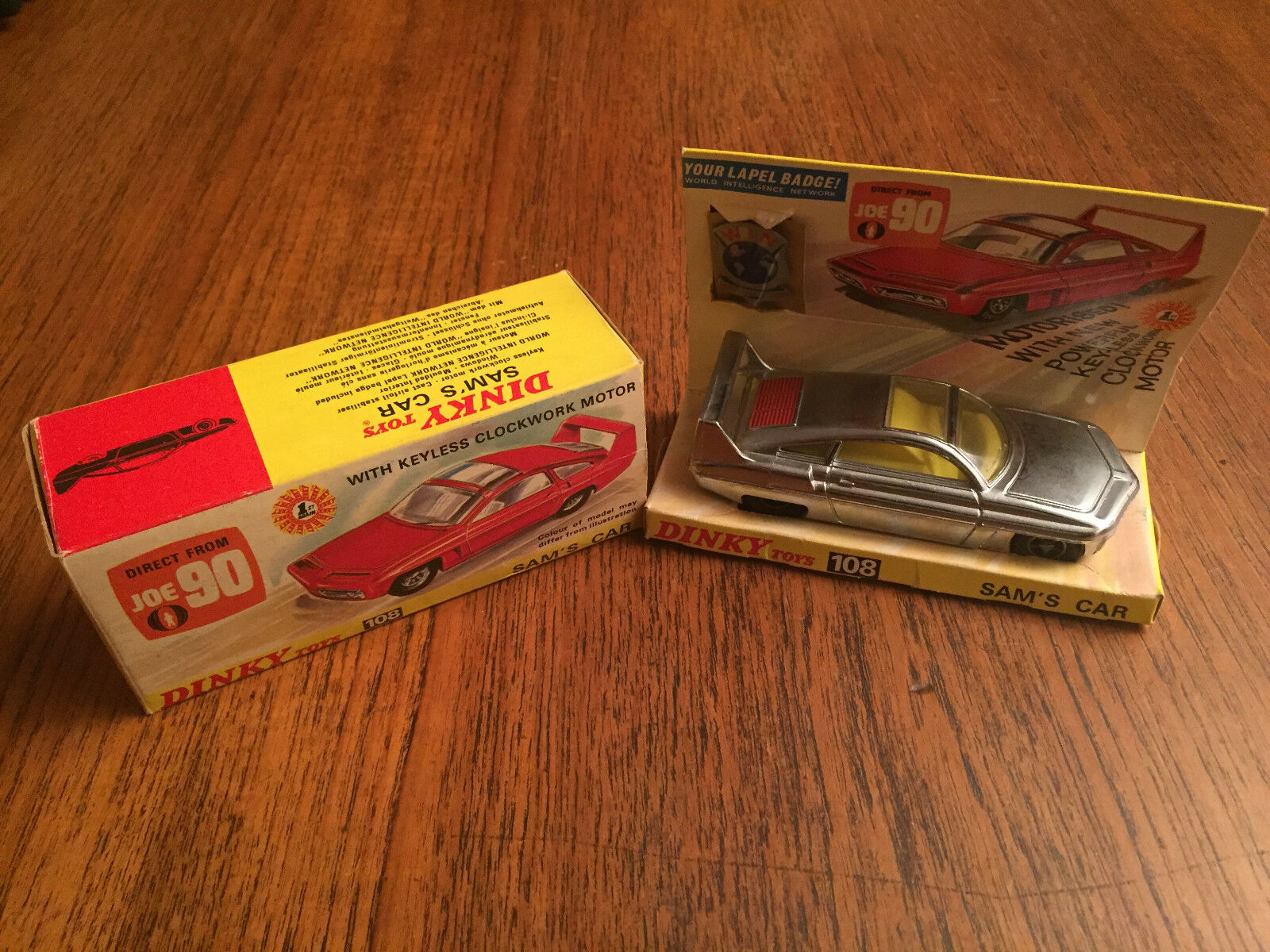 GERRY ANDERSON JOE 90 DINKY TOYS  N°108 SAM'S voiture  magasin de gros