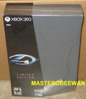 Halo 4 Limited Edition Sealed (microsoft Xbox 360, 2012)