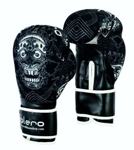 ISLERO Kick Boxing Gloves GEL MMA Punch Bag Sparring Muay Thai Fight Training UF
