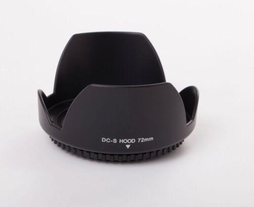 Parasol Universal 72mm negro para Sigma 17-70 mm 2.8-4 DC Macro OS HSM