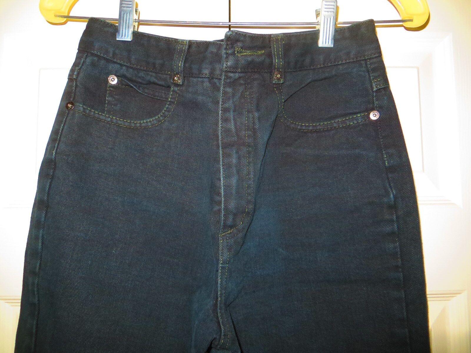 womans skinny jeans CHEMIN DE FER black Vintage 1… - image 6