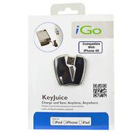 Igo Keyjuice Usb 2.0 Charge & Sync Cable - For Ipod, Iphone, & Ipad Brand