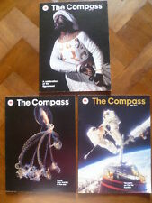 """MOBIL OIL-""""THE COMPASS""""-THE MAGAZINE OF THE SEA AND AIR-VOL. LX 1990-"""