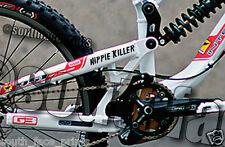 Hippie Killer Mountain Bike Downhill Racer DH Vinyl Decal Sticker CUSTOM