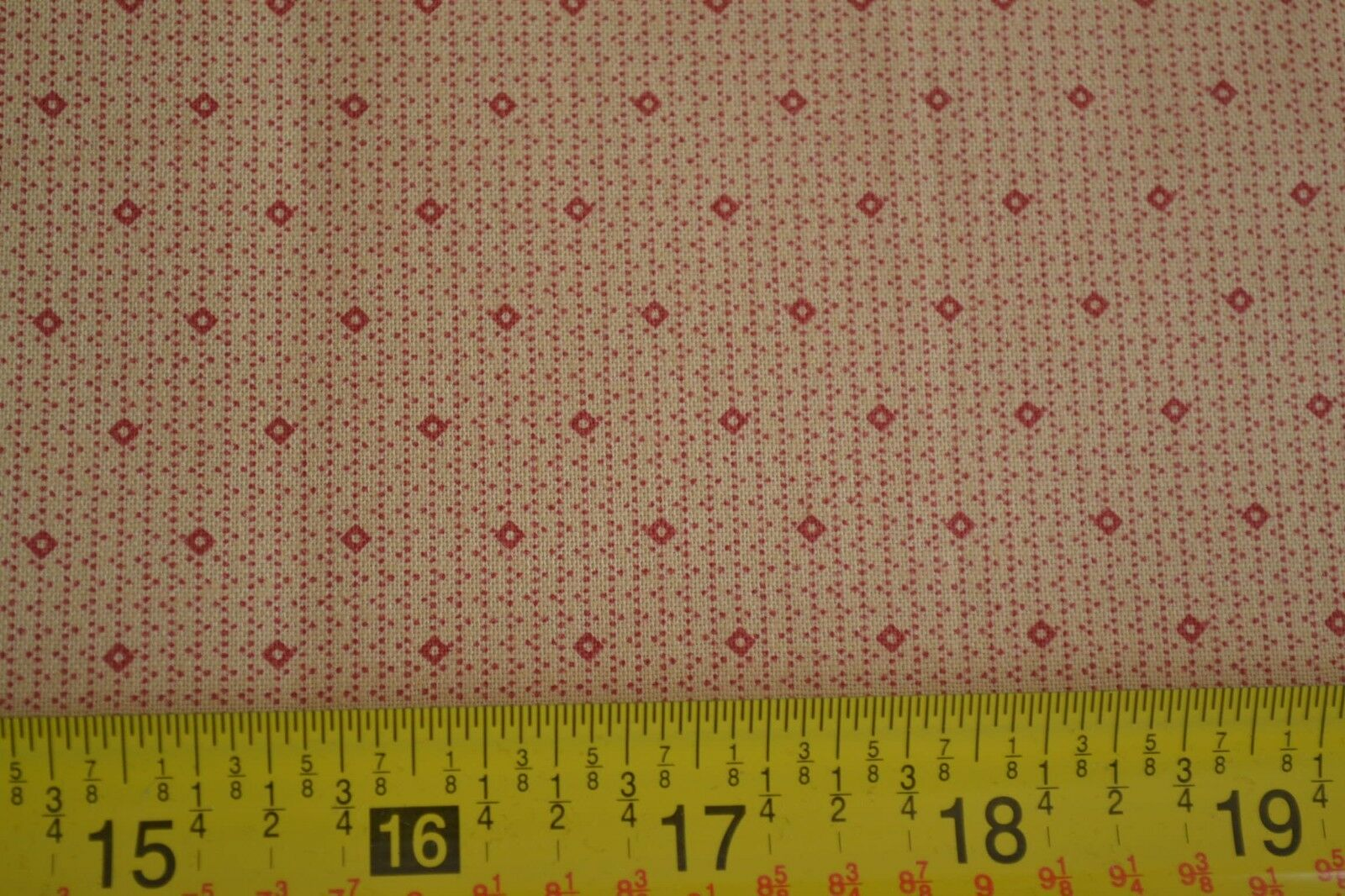 Brown Dots on Green Stripes Quilting Cotton M8054 Andover//Jo Morton By 1//2 Yd