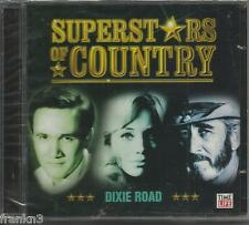 SUPERSTARS OF COUNTRY DIXIE ROAD TIME LIFE 2 CD BOX SET,BRAND NEW SEALED