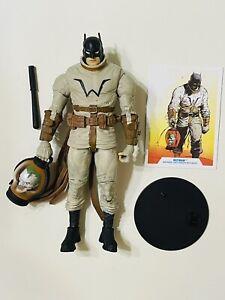McFarlane Toys DC Multiverse Last Knight on Earth Batman Figure With Joker Head