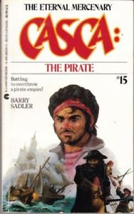 Barry-Sadler-Casca-15-The-Pirate-Charter-1985-1st-edition-601449