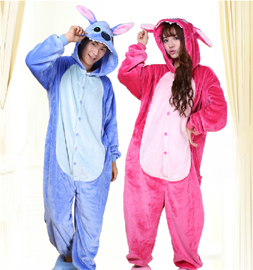 6153a924ea Hot Onesie3Pajamas lilo and stitch Lovers Adult Kids Sleepwear ...