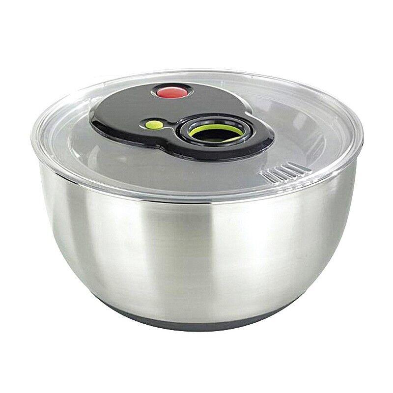 EMSA TURBOLINE insalata CENTRIFUGA, Acciaio Inox, argentoo (1 pezzi)