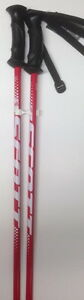 "NEW 2017 SCOTT 540 JUNIOR JR. SKI POLES RED SIZE 38"" 95 CM"