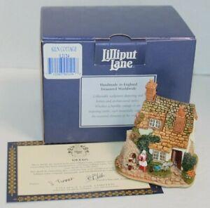 Lilliput Lane Cottage Figure Kiln Cottage Deed Box