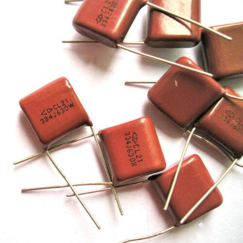 20pc Metallized Polypropylene Film Capacitor 0.33uF 630V for vintage radio amp