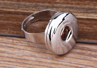 handmade DIY ring fit chunk snap button size you change j2820