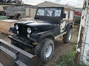 CJ 5 complete BODY ONLY with soft top for sale