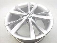 "New Genuine OEM VW Eos 17"" 5 Twin Spoked Arigos Wheel Rim Silver 2012-2015"