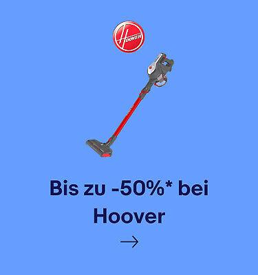 Bis zu -50%* bei Hoover