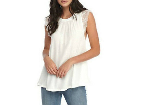 People You Ob670220 Size Xs Movin Wide Top On Womens Lace Free White HwxOSqq
