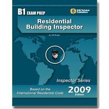 B1 IRC Residential Building Inspector Exam Practice Question Test Workbook 2009