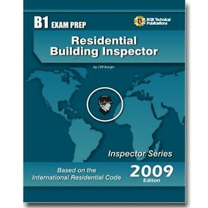 b1 irc residential building inspector exam practice question test rh ebay com Math Study Guide Sat Study Guide