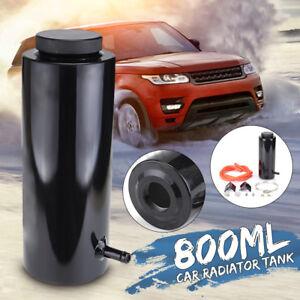 800ML-Car-Overflow-Radiator-Coolant-Aluminum-Catch-Tank-Cylinder-Alloy-Kit-Black