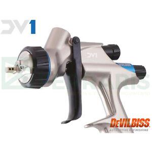 New-Pistolet-Devilbiss-DV1-Airbrush-Hvlp-1-2-mm-Buse-Original-With-Warranty