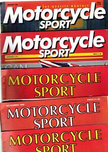 Various-Issues-of-MOTORCYCLE-SPORT-Magazine-from-September-1970-to-May-1996
