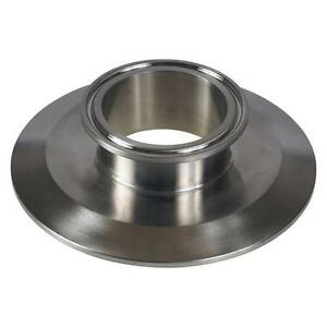 "End Cap Reducer | Tri Clamp 4"" x 2"" - Sanitary Stainless Steel SS304"