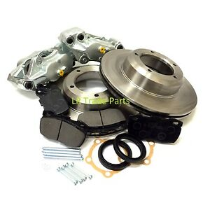 LAND-ROVER-DEFENDER-90-FRONT-VENTED-BRAKE-UPGRADE-KIT-DISCS-CALIPERS-amp-PADS
