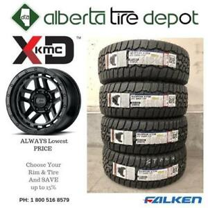LOWEST PRICE  TIRES XD Rims RECON 18x8.5 6x135.00 BLACK 305/60R18 275/65R18 35x12.50R18 305/60R18 33x12.50R18 285/60R18 Calgary Alberta Preview